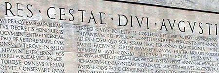 Ludi novi romani mmdcclxvii certamen latinum augusteum - Res gestae divi augusti ...